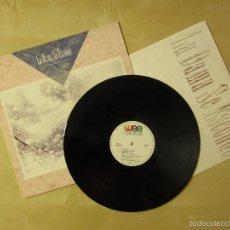 Discos de vinilo: LA DAMA SE ESCONDE - LA TIERRA DE LOS SUEÑOS - VINILO ORIGINAL PRIMERA EDICION WEA 1987. Lote 56642408