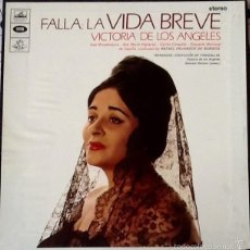 Discos de vinilo: MANUEL DE FALLA. 2 DISCOS EN CAJA Y CON LIBRETO. SIN ESTRENAR. ENVIO CERTIFICADO INCLUIDO.. Lote 56646262