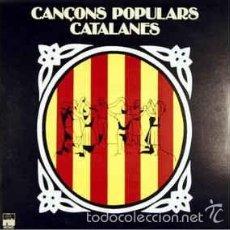 Discos de vinilo: VARIOUS ?– CANÇONS POPULARS CATALANES . Lote 56647264