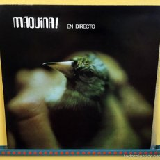 Discos de vinilo: MAQUINA 2XLP EN DIRECTO VINILO LP DOBLE - EDICION ESPECIAL PARA COLECCIONISTAS DIABOLO. Lote 56647311
