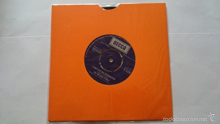 THE ROLLING STONES - (I CAN'T GET NO) SATISFACTION (1965) / THE SPIDER AND THE FLY (REEDIC. UK 1976) (Música - Discos - Singles Vinilo - Pop - Rock Extranjero de los 50 y 60)