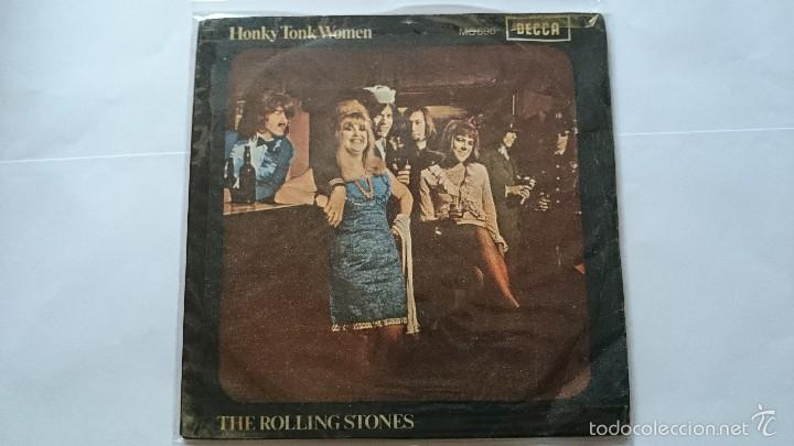 THE ROLLING STONES - HONKY TONK WOMEN / YOU CAN'T ALWAYS GET WHAT YOU WANT (1969) (Música - Discos - Singles Vinilo - Pop - Rock Extranjero de los 50 y 60)