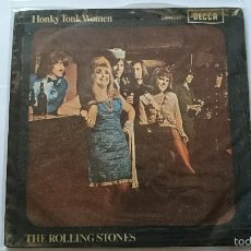 Discos de vinilo: THE ROLLING STONES - HONKY TONK WOMEN / YOU CAN'T ALWAYS GET WHAT YOU WANT (1969). Lote 56649575