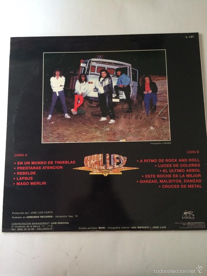 Discos de vinilo: HALLEY-HALLEY-1993-NUEVO A ESTRENAR-FIRMADO POR LA BANDA-CON LETRAS-MUY RARO Y DIFICIL - Foto 2 - 57142138