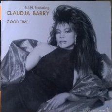 Discos de vinilo: S.I.N. FEATURING CLAUDJA BARRY-GOOD TIME, KONGA MUSIC-CX-130. Lote 56653251
