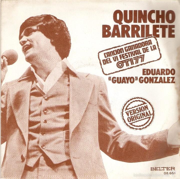 VENDO SIGLE DE EDUARDO GUAYO GONZALEZ, (CANCIÓN GANADORA DE VI FESTIVAL DE LA OTI, 1977). (Música - Discos - Singles Vinilo - Otros Festivales de la Canción)