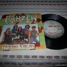 Discos de vinilo: PANZER PERRO VIEJO. Lote 56655163