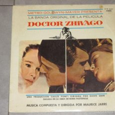 Discos de vinilo: MAURICE JARRE - DOCTOR ZHIVAGO - MGM RECORDS - 1968 - MADE IN SPAIN - IBL -. Lote 56655444