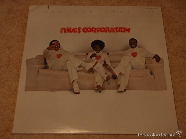 THE HUES CORPORATION ( LOVE CORPORATION ) NEW YORK-USA 1975 LP33 RCA (Música - Discos - LP Vinilo - Funk, Soul y Black Music)