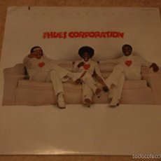 Discos de vinilo: THE HUES CORPORATION ( LOVE CORPORATION ) NEW YORK-USA 1975 LP33 RCA. Lote 56657740