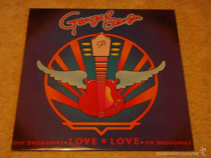 GEORGE BENSON ( LOVE X LOVE - OFF BROADWAY 2 VERSIONES ) ENGLAND-1978 MAXI45 WARNER BROS (Música - Discos de Vinilo - Maxi Singles - Jazz, Jazz-Rock, Blues y R&B)