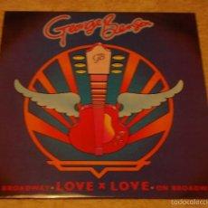 Discos de vinilo: GEORGE BENSON ( LOVE X LOVE - OFF BROADWAY 2 VERSIONES ) ENGLAND-1978 MAXI45 WARNER BROS . Lote 56659735