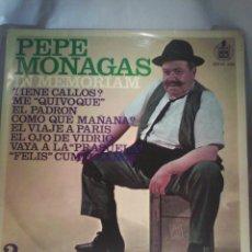 Discos de vinilo: PEPE MONAGAS - IN MEMORIAM 2. Lote 56659827