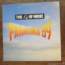 Discos de vinilo: MAXI SINGLE - THE ART OF NOISE - PARANOIMIA '89 . Lote 56660775