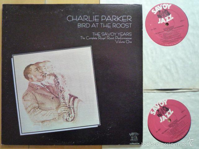 CHARLIE PARKER - BIRD AT THE ROOST. THE SAVOY YEARS VOL. 1 (2 LPS) - SAVOY JAZZ (USA, 1985) (Música - Discos - LP Vinilo - Jazz, Jazz-Rock, Blues y R&B)
