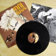 Discos de vinilo: BILLY IDOL - WHIPLASH SMILE - ALBUM VINILO ORIGINAL EDICION CERTIFICADA USA CHRYSALIS 1986. Lote 56665794