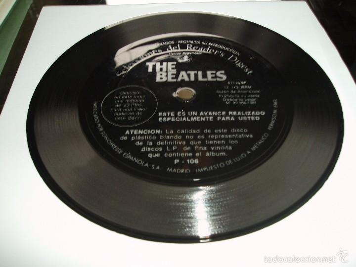 THE BEATLES FLEXI DISC 33 1/3 RPM PROMO READER´S DIGEST SPAIN NEAR MINT (Música - Discos - Singles Vinilo - Pop - Rock Extranjero de los 50 y 60)