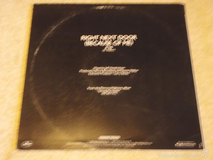 Discos de vinilo: ROBERT CRAY ( RIGHT NEXT DOOR(BECAUSE OF ME) 2 VERSIONES ) NEW YORK-USA 1986 MAXI33 MERCURY - Foto 2 - 56671675