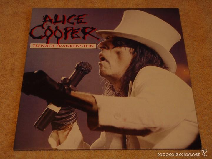 ALICE COOPER – TEENAGE FRANKENSTEIN GERMANY,1987 MCA RECORDS (Música - Discos de Vinilo - Maxi Singles - Heavy - Metal)