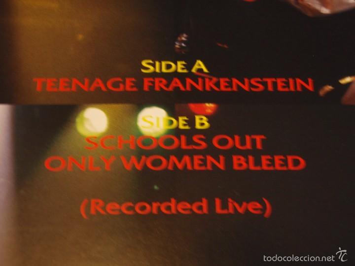 Discos de vinilo: Alice Cooper – Teenage Frankenstein Germany,1987 MCA Records - Foto 3 - 56672103