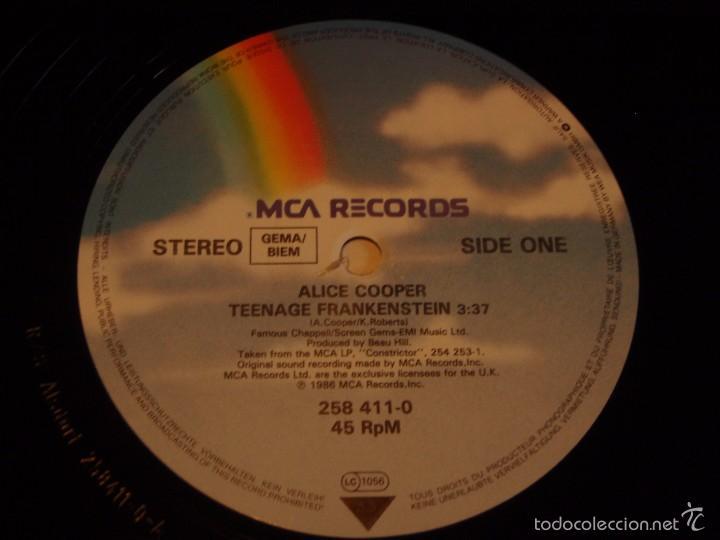 Discos de vinilo: Alice Cooper – Teenage Frankenstein Germany,1987 MCA Records - Foto 4 - 56672103