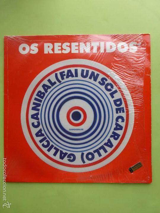 OS RESENTIDOS - GALICIA CANIBAL MAXI SINGLE VINILO - BUEN ESTADO - MOVIDA VIGO (Música - Discos de Vinilo - Maxi Singles - Grupos Españoles de los 70 y 80)