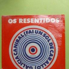 Discos de vinilo: OS RESENTIDOS - GALICIA CANIBAL MAXI SINGLE VINILO - BUEN ESTADO - MOVIDA VIGO. Lote 56673729