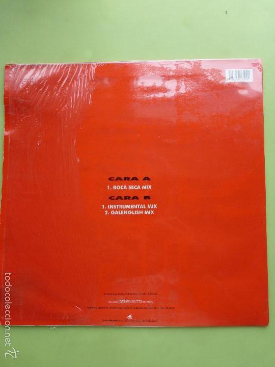 Discos de vinilo: OS RESENTIDOS - GALICIA CANIBAL MAXI SINGLE VINILO - BUEN ESTADO - MOVIDA VIGO - Foto 2 - 56673729