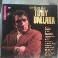 Discos de vinilo: DISCO DE VINILO ÉXITOS DE TONY DALLARA. Lote 56674171