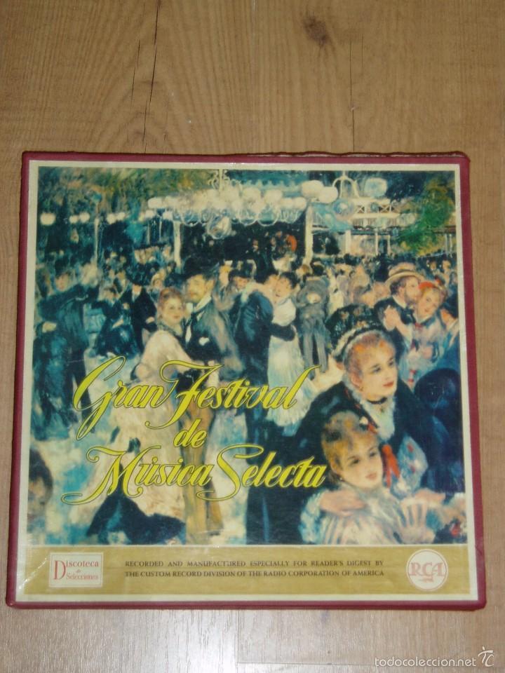 GRAN FESTIVAL DE MUSICA SELECTA (Música - Discos de Vinilo - Maxi Singles - Clásica, Ópera, Zarzuela y Marchas)
