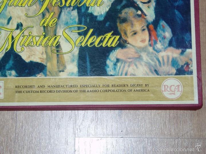 Discos de vinilo: GRAN FESTIVAL DE MUSICA SELECTA - Foto 2 - 56674506