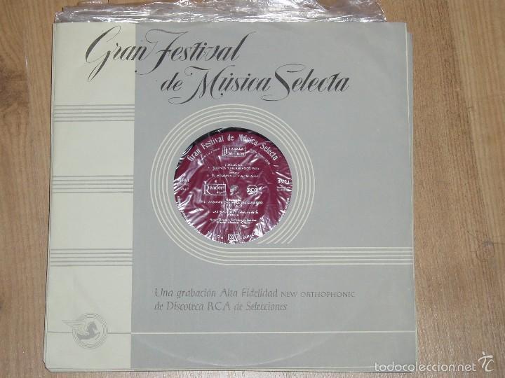 Discos de vinilo: GRAN FESTIVAL DE MUSICA SELECTA - Foto 8 - 56674506