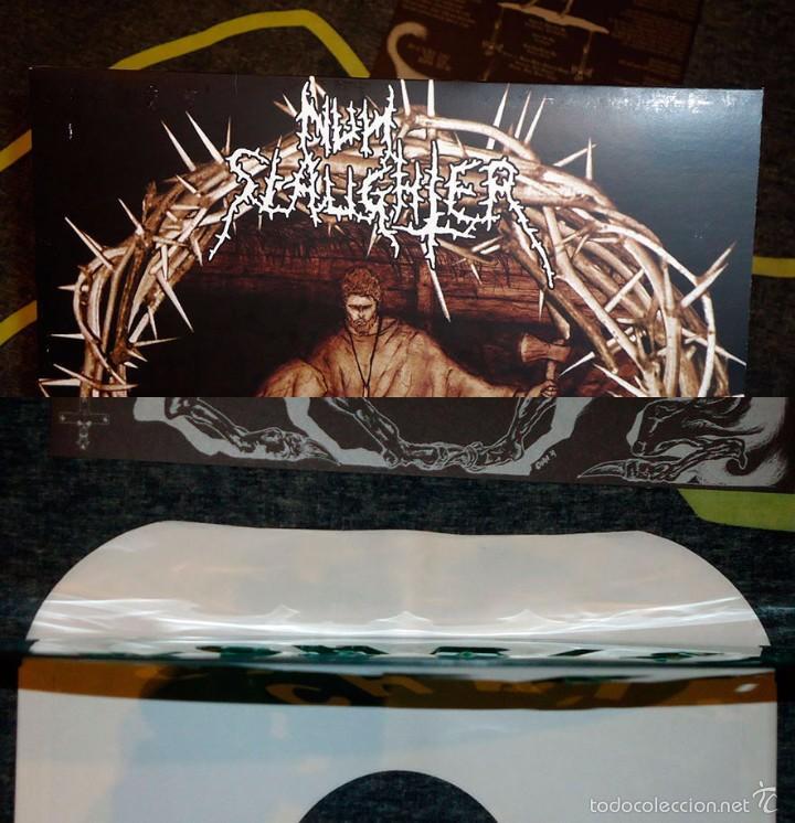 Discos de vinilo: Nunslaughter - Christmassacre - 12 EP [Hells Headbangers, 2004 · Lim. 384] - Foto 2 - 56675698