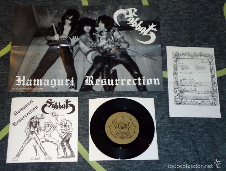 SABBAT - HAMAGURI RESURRECTION - 7'' (Música - Discos de Vinilo - EPs - Heavy - Metal)