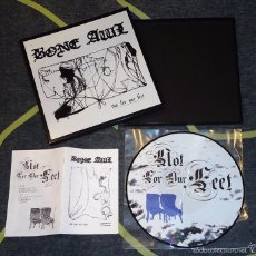 Discos de vinilo: BONE AWL - NOT FOR OUR FEET - PICTURE LP BOX [CELL, 2006 · LIM. 100] BLACK METAL. Lote 56691454