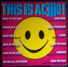 This Is Aciiid! - Various LP 1989 recopilación Acid house