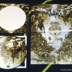 Discos de vinilo: CLAWS - ABSORBED IN THE NETHERVOID - PICTURE LP [#73/100]. Lote 56694600