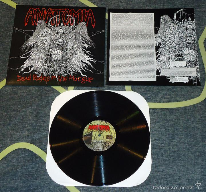 anatomia - dead bodies in the morgue - lp [vini - Comprar Discos LP ...