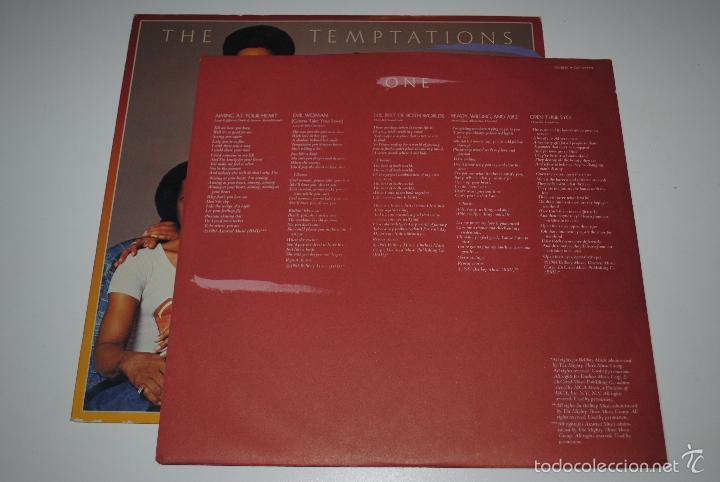Discos de vinilo: the temptations.the temptations.(gordy 1981).usa - Foto 3 - 56695940