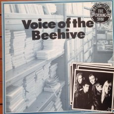 Discos de vinilo: VOICE OF THE BEEHIVE - THE RADIO 1 SESSIONS - THE EVENING SHOW . MAXI SINGLE . 1989 UK. Lote 56696070