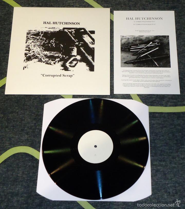 HAL HUTCHINSON - CORRUPTED SCRAP - LP [LIM. 143] (Música - Discos - LP Vinilo - Electrónica, Avantgarde y Experimental)