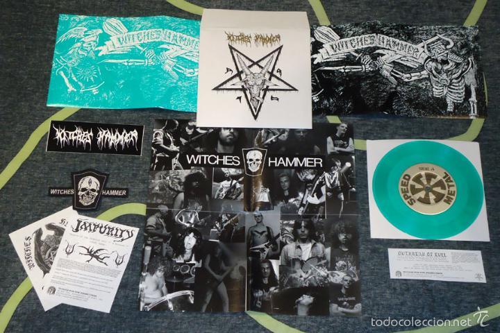 WITCHES HAMMER - DEATH OF NO REPRIEVE - 7'' [DIE HARD EDITION] (Música - Discos de Vinilo - EPs - Heavy - Metal)