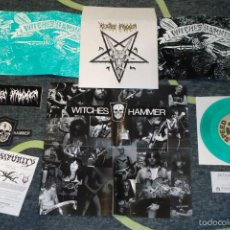 Discos de vinilo: WITCHES HAMMER - DEATH OF NO REPRIEVE - 7'' [DIE HARD EDITION]. Lote 56697534
