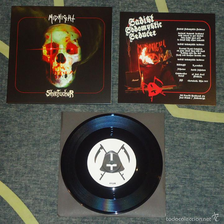 MIDNIGHT / SHITFUCKER - SPLIT - 7'' (Música - Discos de Vinilo - EPs - Heavy - Metal	)