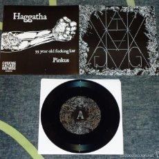 Discos de vinilo: HAGGATHA - HAGGATHA III - 7'' [LIM. 400]. Lote 56697997
