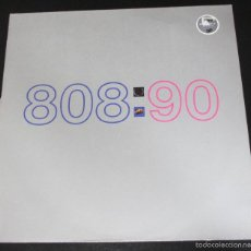 Discos de vinilo: 808 STATE - NINETY 90 - ENCARTE INTERIOR - 1989 MADE IN GERMANY. Lote 56698061