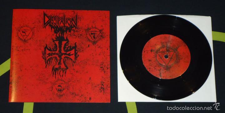 DISSIPATION - D.S.W. - 7'' (Música - Discos de Vinilo - EPs - Heavy - Metal)