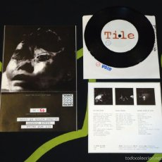 Discos de vinilo: TILE - SIT AND RELAX - 7'' [REJECTED PRESS · #43/96]. Lote 56698357