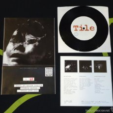Discos de vinilo: TILE - SIT AND RELAX - 7'' [REJECTED PRESS · #54/96]. Lote 56698377