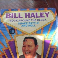 Discos de vinilo: BILL HALEY-ROCK AROUND THE CLOCK-RE.FRANCE. Lote 56700081